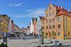 Fuchseck mit Brunnen und Haus Zimmerle in Ellwangen