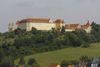 Blick auf das Schloss bei Ellwangen