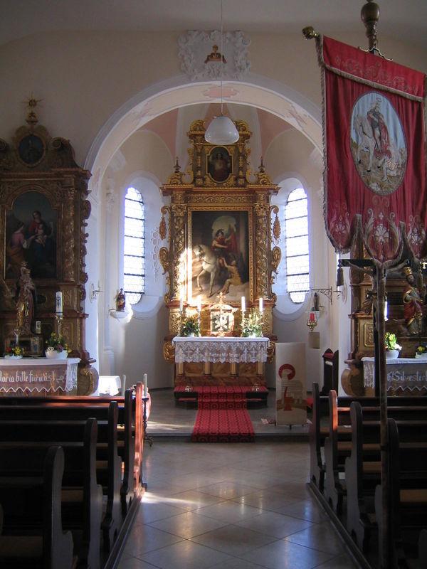St. Martinus Killingen Innenbild