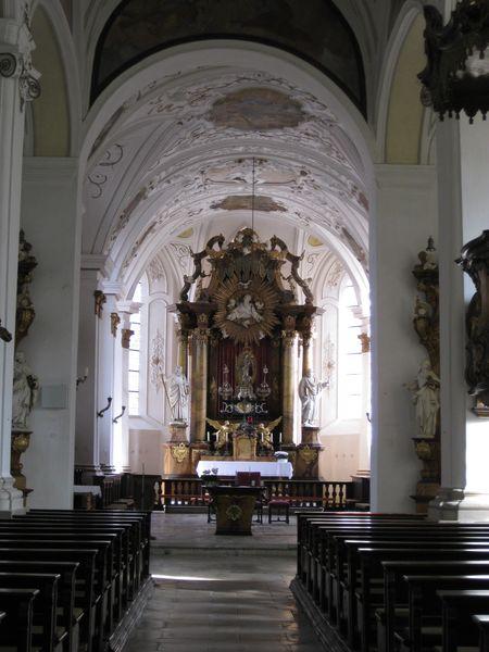Marienkirche Innenansicht