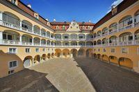 Schloss Ellwangen_Arkadeninnenhof