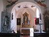 Kapelle St. Urusula Haisterhofen - Innenansicht