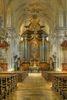 Ellwangen_Schönenbergkirche_Innenraum mit Blick zum Hochaltar
