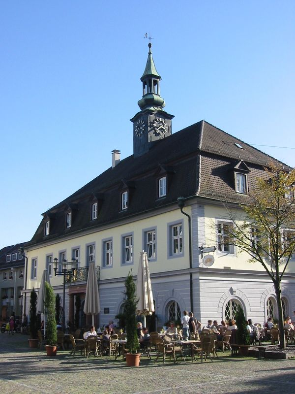 Altes Rathaus auf dem Marktplatz