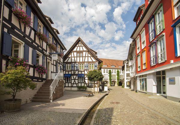 Lammstrasse in der Emmendinger Altstadt