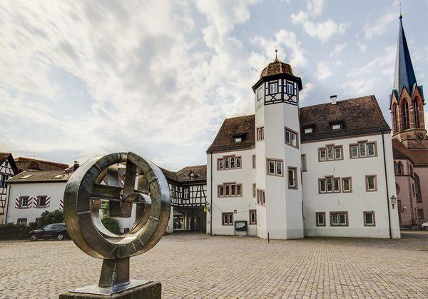 Markgrafenschloss mit Schlossplatz