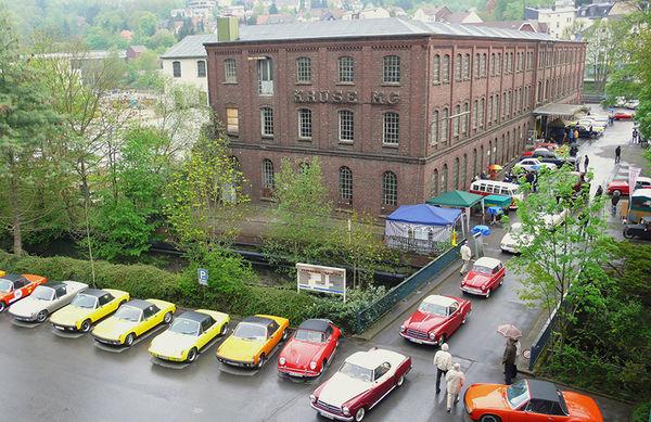 Industriemuseum mit Oldtimerausstellung