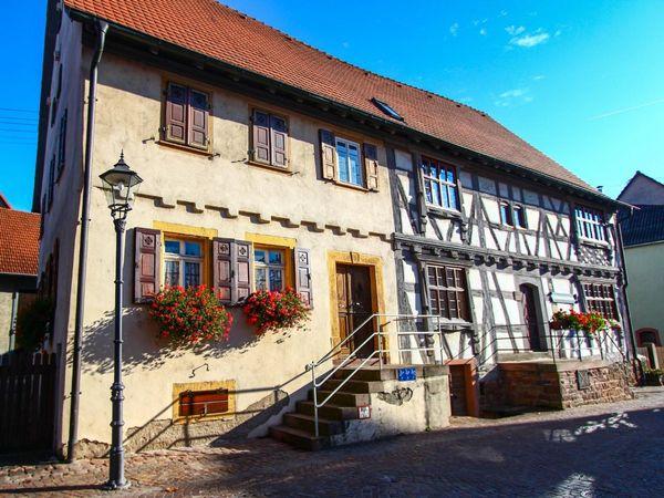 Das Heimatmuseum Epfenbach von außen
