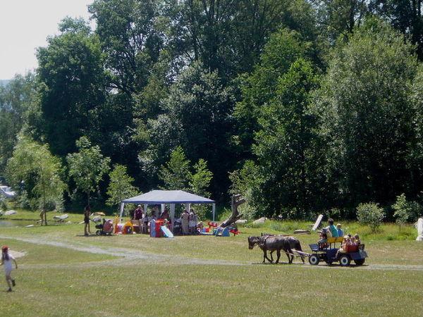 Familienspaß bei der Freizeitanlage am Klopferbach in Eppenschlag im Bayerischen Wald
