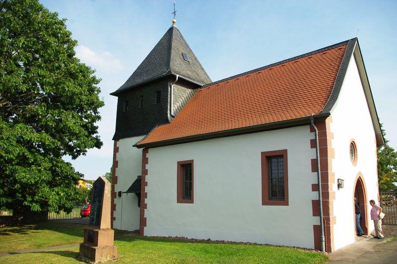 Kirche Bullau in Erbach