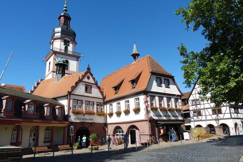 Altes Rathaus, Touristik-Information und Odenwaldladen