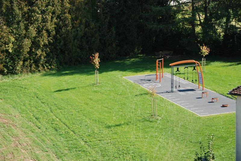 Der Bewegungsparcours in Ergoldsbach