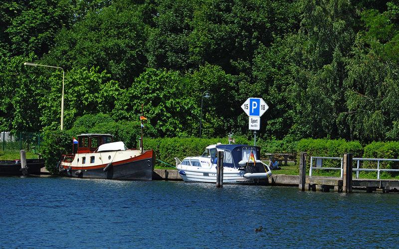 48-h-Sportbootliegestelle Erkner, Foto: Christin Drühl