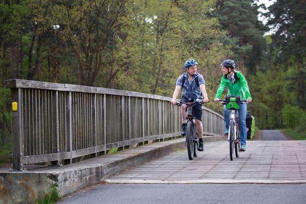Spreeradweg, Foto: Florian Läufer, Foto: Florian Läufer, Lizenz: Seenland Oder-Spree