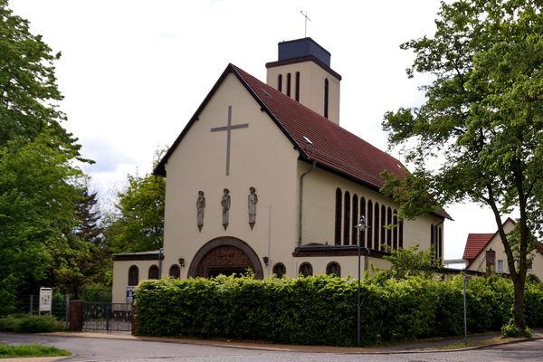Kirche Sankt Bonifatius in Erkner, Foto: Stadt Erkner