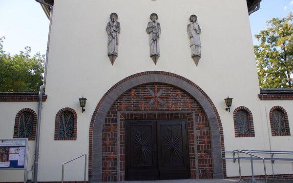 Kirche Sankt Bonifatius in Erkner, Foto: Alexandra Pohnke