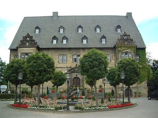 Schloss Erwitte - Vorderseite