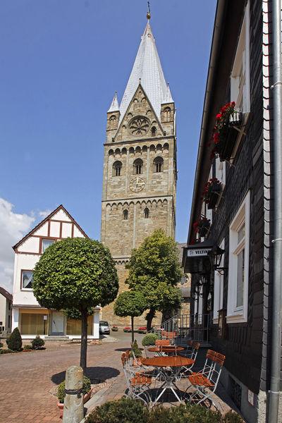 Trum der Pfarrkirche St. Laurentius Erwitte