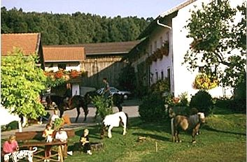 Urlaub mit Tieren auf dem Gruberhof bei Eschlkam