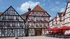 Marktplatz Eschwege mit Rathaus