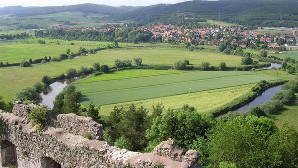 Werratal Radweg Karte.Werratal Radweg Grimmheimat Nordhessen