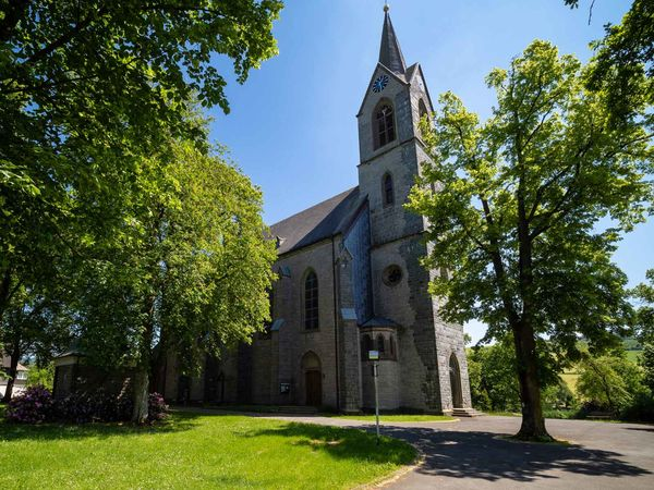 St. Pankratius Pfarrkirche in Reiste