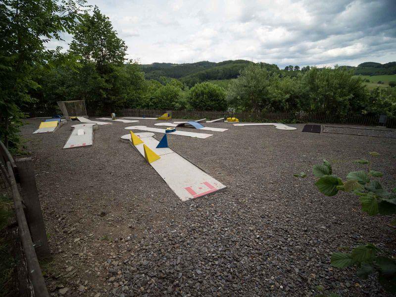 Minigolfplatz auf dem Eibel in Wenholthausen