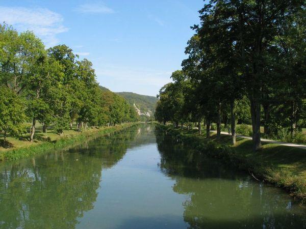 Ludwig-Donau-Main-Kanal bei Essing im Altmühltal