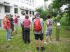 Führung am Nachbau des Grabhüges der Bronzezeit in Essing-Altessing im Altmühltal