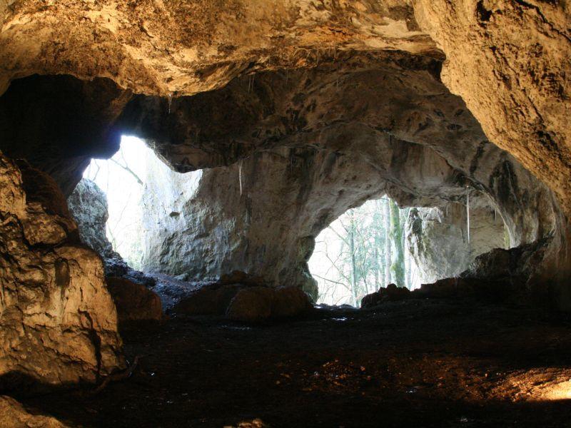 Klausenhöhlen in Essing