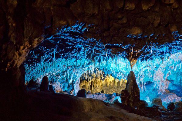 Tropfsteinhöhle Schulerloch in Essing im Altmühltal