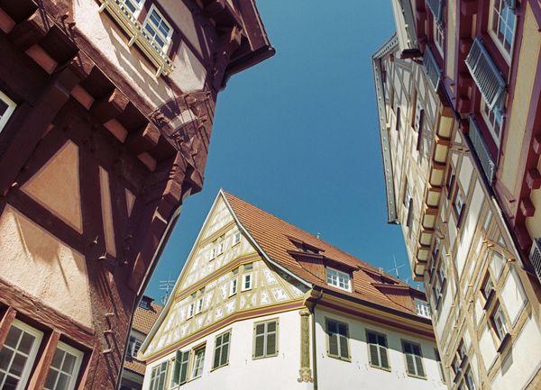Historische Fachwerkbauten in Esslingen am Neckar
