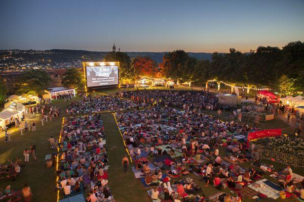 Kino auf der Burg in Esslingen am Neckar