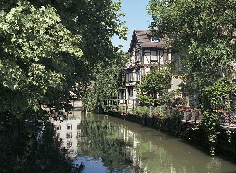 Jugendstilvilla am Esslinger Neckarkanal