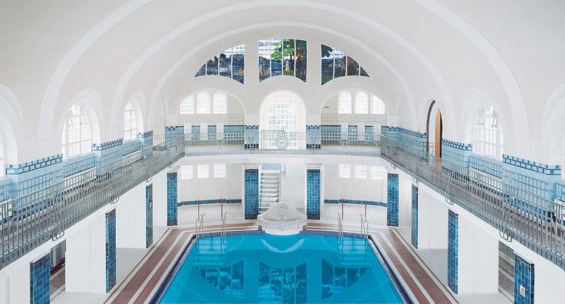 Das Merkel´sche Schwimmbad in Esslingen am Neckar