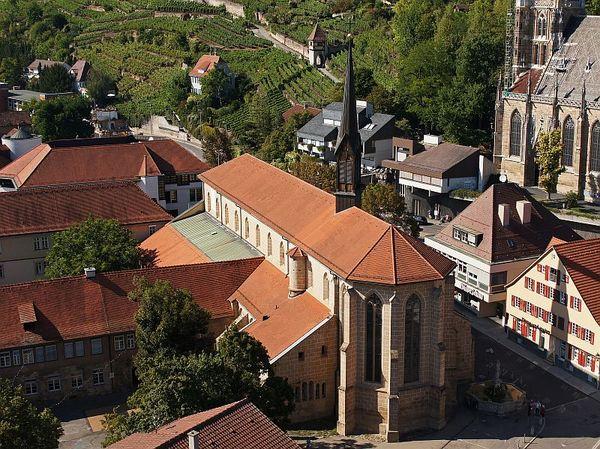 Das Münster St. Paul in Esslingen am Neckar