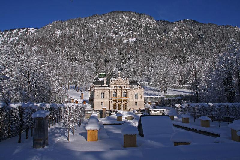 Schloss Park Linderhof Ettal