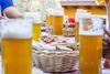 Eine traditionelle Bierspezialität: Zoigl aus Falkenberg im Oberpfälzer Wald.