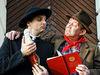 Szene aus dem Stück Don Camillo und Peppone