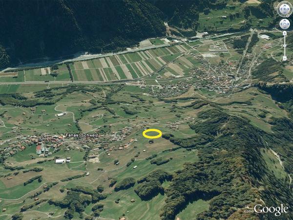 Landeplatz in Fanas