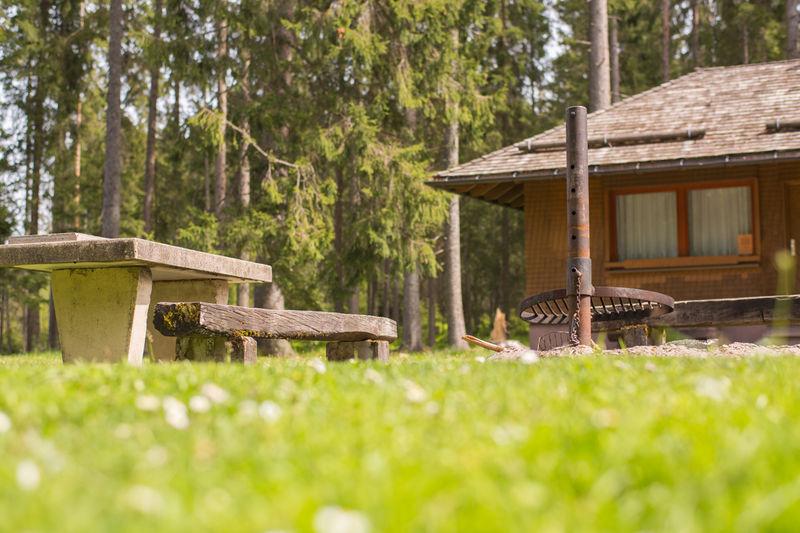 Sitzgelegenheit Grillplatz Bärental