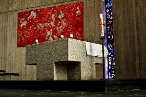 Innenansicht Kapelle St. Elisabeth
