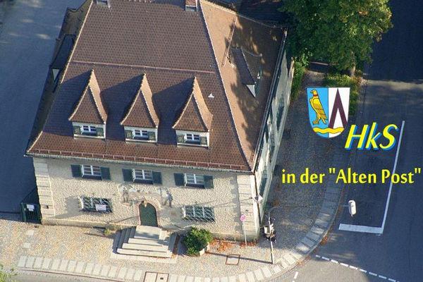 Alte Post in Feldkirchen, Sitz der HkS