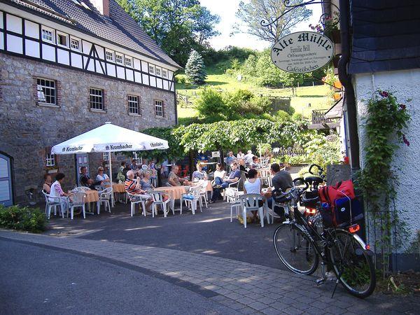 Frettermühle mit ehemaligen Caféstübchen