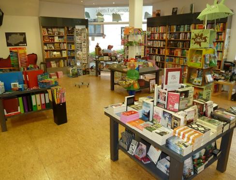 Innenansicht Buchhandlung