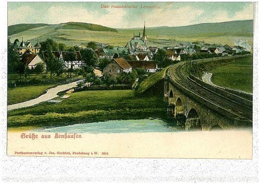 Eisenbahnbrücke Lenhausen