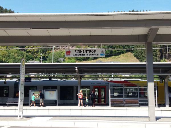Radbahnhof Finnentrop