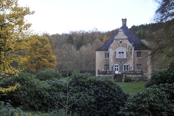 Blick auf Schloss Ahausen