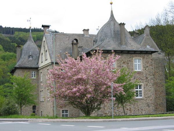 Schloss von außen
