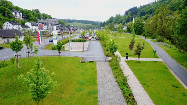Lennepark mit Wohnmobilstsellplatz